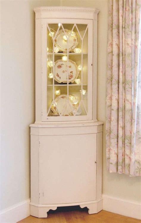 white curio cabinet corner display unit glass curio cabinet small white