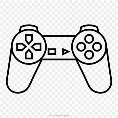 Coloring Videogame Colorir Desenho Ray Amusement Cathode
