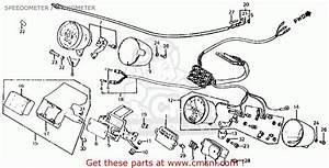 Honda Vt750c Shadow 750 1983 Usa Speedometer    Tachometer