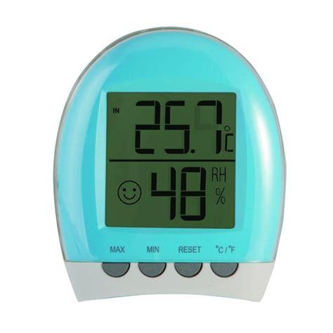 thermomètre hygromètre chambre bébé thermomètre bébé hygromètre d 39 intérieur de lbs sur