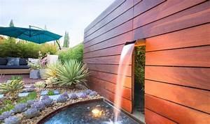 design exterieur amenagement paysager studio h cascade With amenagement petit jardin avec terrasse et piscine 2 amenagement paysager moderne 25 idees par studio h
