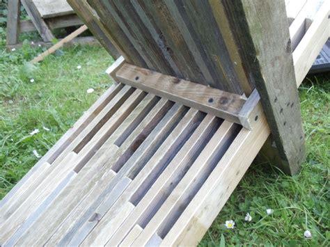 fabriquer chaise fabriquer chaise en bois chaise pliante plate en bois