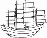 Ship Dock Coloring Simple Drawing Boat Clipart Colouring Fishing Wooden Sketch Transportation Clip Template Library Sheets sketch template