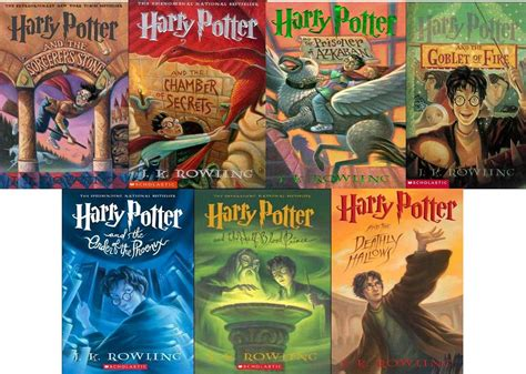 author of harry poter the five best children s book series 4 the harry potter books by j k rowling