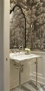 wallpaper for bathrooms ideas create a smashing powder room traditional home
