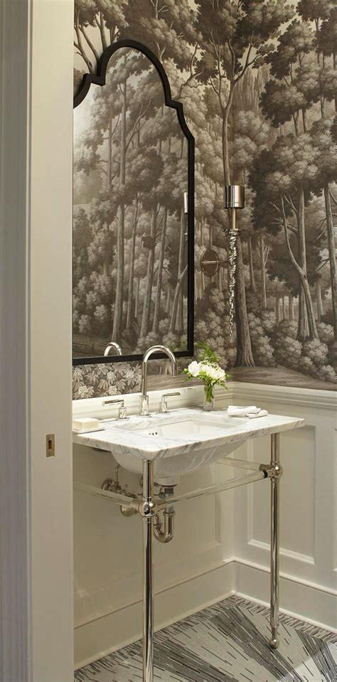 bathroom tile ideas for small bathrooms create a smashing powder room traditional home
