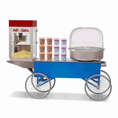 Popcorn Candy Floss Combo Machine Fun Machines