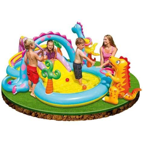 piscine gonflable avec siege intex piscine gonflable enfant aire de jeux aquatique