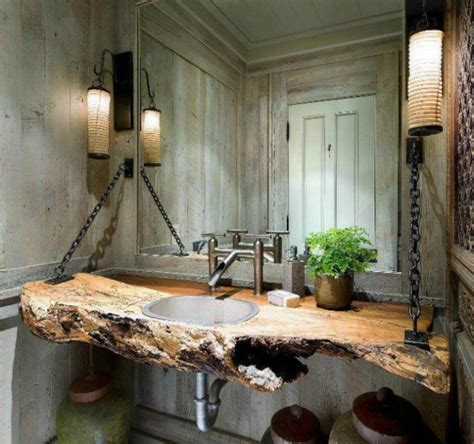 holz badezimmer 23 fantastische rustikale badezimmer design ideen