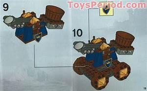 Lego 7091 Knights U0026 39  Catapult Defense Set Parts Inventory