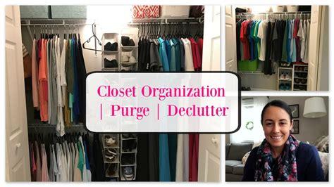Organize With Me  Master Bedroom Closet Organization