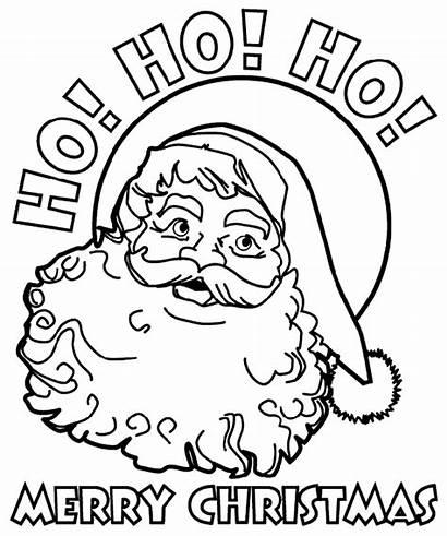 Santa Christmas Coloring Crayola Pages