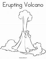 Volcano Coloring Erupting Volcanoes Eruption Pages Cartoon Island Print Printable Drawings Kindergarten Fire Volcanos Earth Thermal Noodle Twisty 886px 26kb sketch template