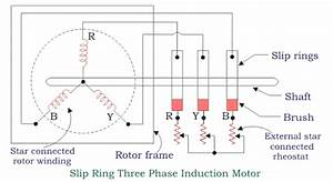 Wiring Diagram Of Three Phase Induction Motor