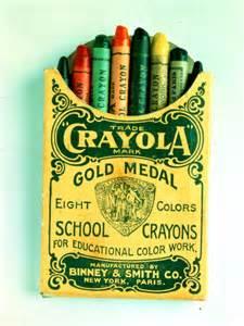 Old Crayola Crayons