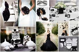 Table Decorations Black And White Theme Black White Wedding Theme Dream Irish Wedding A Black And White