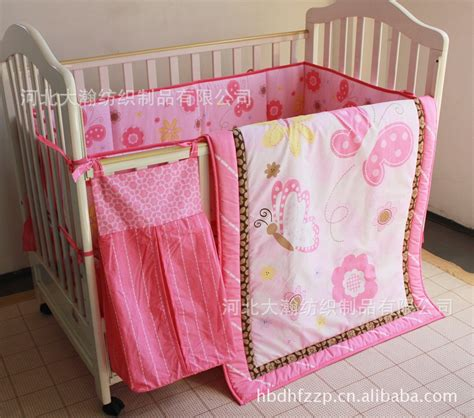31186 baby bedding sets for cribs promotion 5pcs baby crib bedding set cot set embroidered