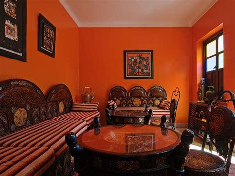 burnt orange paint living room living room