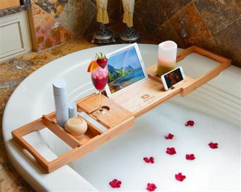 bamboo bathtub caddy tray wood bathtub caddy bamboo shower bath tub tray organizer