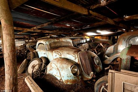 Exotic Cars Found In French Barn (2