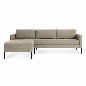 modern chaise sofa with black wooden furniture white With low profile sectional sofa with chaise