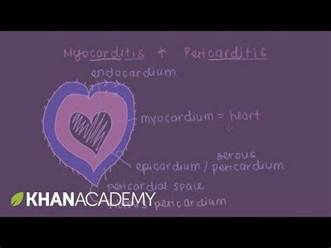 myocarditis  pericarditis youtube