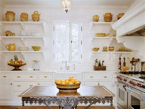 Kitchens With Dark Cabinets by Tips For Making Open Kitchen Shelving Aesthetic And Useful