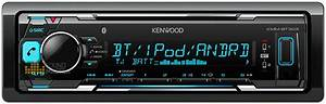 129  Kenwood Kmmbt303 Built In Bluetooth Usb Receiver