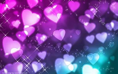 Purple Pink Background Pretty Backgrounds Hearts Heart