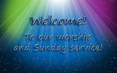 Sunday God Service Worship Background Message Services