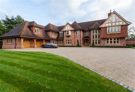 7 Bedroom Homes by Stately Brick Mansion In Cheshire Homes Of The Rich