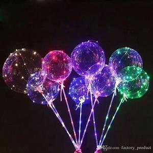 Led Ballon Lichter : gro handel 18 zoll led lichter clear bobo ball bunte licht nachtlicht b lle ballon luftballon ~ Yasmunasinghe.com Haus und Dekorationen