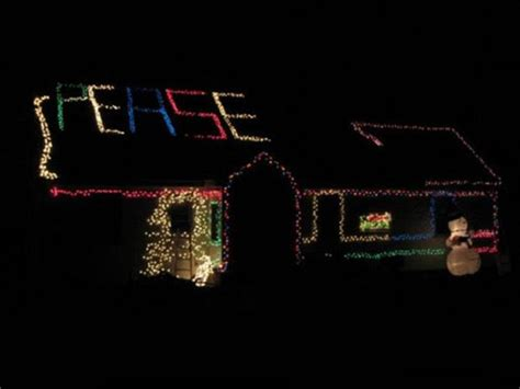 funny christmas lights peace funny christmas pictures