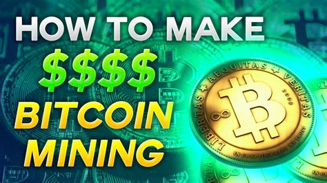 Below is how to generate bitcoins for free. How To Make Money Mining Bitcoin in 2018 - YouTube