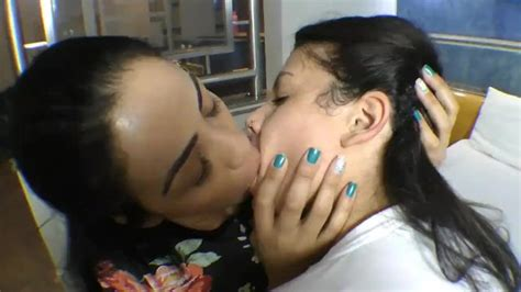 deep kissing and tongue sucking with braces thumbzilla