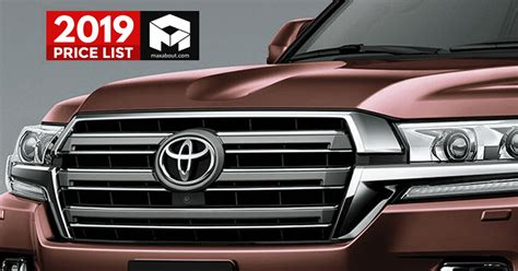 toyota cars suvs price list  india full lineup