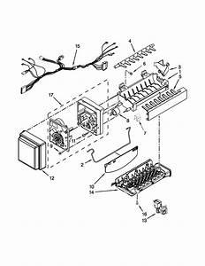 Icemaker Parts Diagram  U0026 Parts List For Model Kfxs25ryms2 Kitchenaid