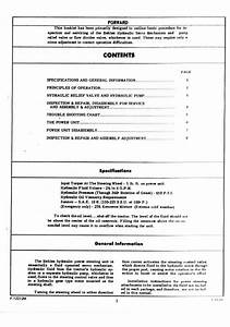 Behlen Power Steering Service Manual Page 2  2005