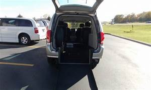 2014 Dodge Grand Caravan With Freedom Rear Entry Manual
