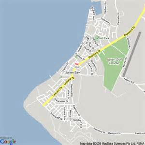 Map of Jurien Bay, Western Australia | Hotels Accommodation