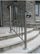 Outdoor Metal Handrails For Stairs by 25 Best Ideas About Outdoor Stair Railing On Pinterest Stair And Step Ligh