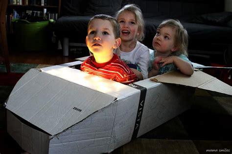 DIY Cardboard Space Shuttle + More Fun Space Activities