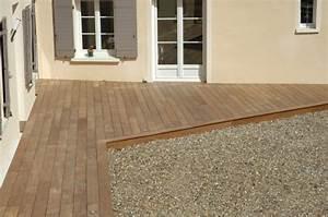 Pose Terrasse Composite Sur Dalle Beton : les experts de la pose de terrasse en bois ~ Carolinahurricanesstore.com Idées de Décoration