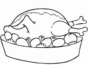 Coloring Pages Fried Chicken : Printable Coloring Sheet ...