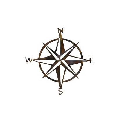 Compass Rose Transparent Drawing Map Clipart Treasure