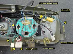 Tacho Wiring  Assistance Please    Forum