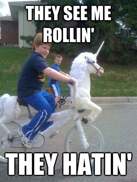 They See Me Rollin They Hatin Meme - the gallery for gt they see me rollin i ate them meme