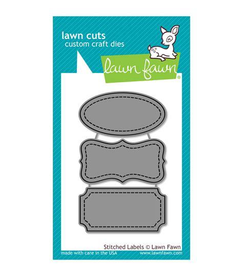 lawn fawn lawn cuts custom craft die stitched labels jo
