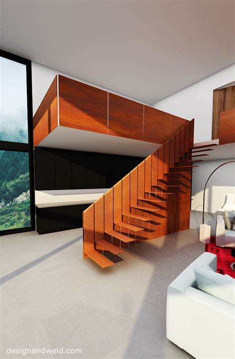 home interior design themes unique cor ten steel stairs c by designandweld com