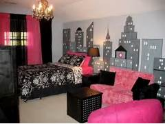 Dark Pink Bedroom 10 Big City Theme Designs For Kids Rooms Kidsomania